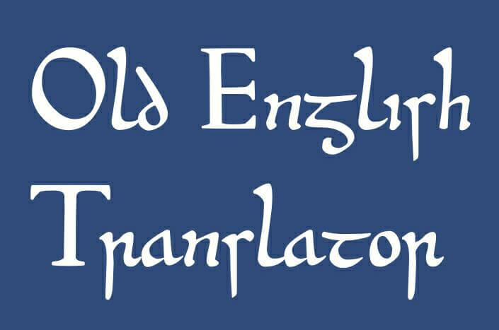 Old English Translator Logo
